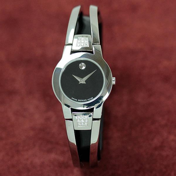 MOVADO(モバード)AMOROSA(アムローサ)女性用腕時計 M84.122.E4S.A 0.119ctダイヤモンド