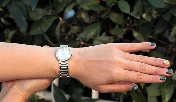 MOVADO モバード 女性用 ダイヤモンド腕時計