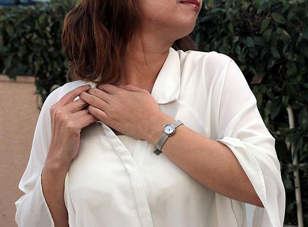 モバード 腕時計 女性用