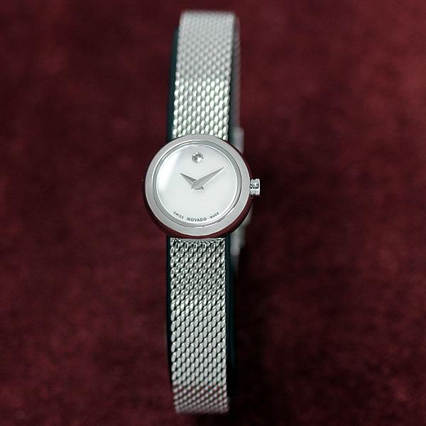 MOVADO(モバード)Dot(ドット)女性用腕時計 M80.110.1042S