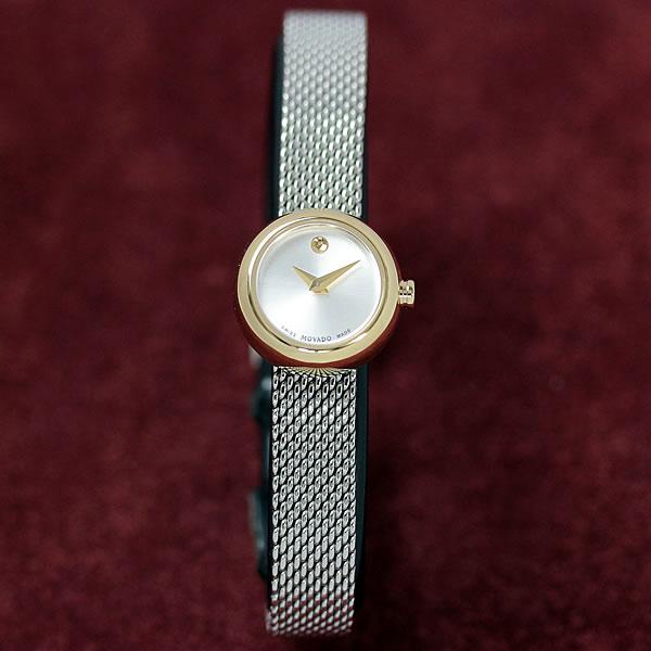MOVADO(モバード)Dot(ドット)女性用腕時計 M80.210.1042S