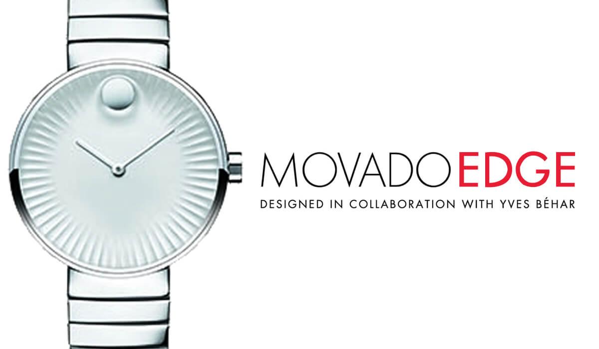 MOVADO EDGE モバード エッジ スイスブランドの腕時計
