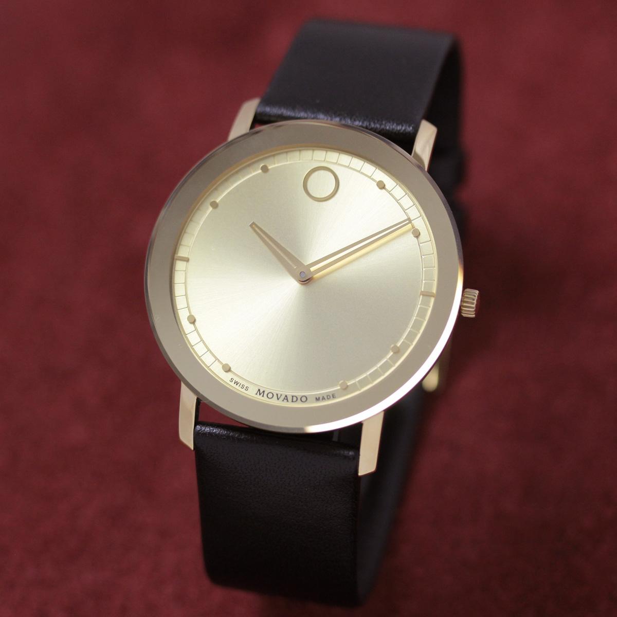 モバード クォーツ 男性用腕時計m06068838304l