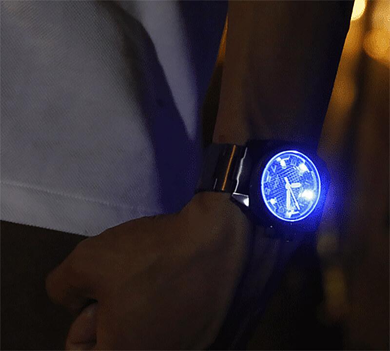 ライト付き LEDライト付き 腕時計
