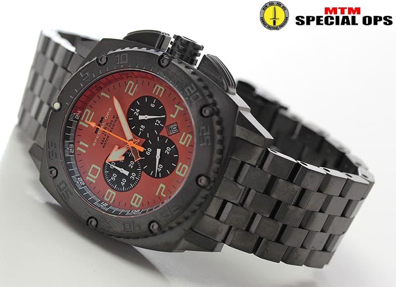MTM スペシャルOPS パトリオット(PATRIOT)Black Tit オレンジダイヤル PAT-TBK-ORNG-MBTI 腕時計