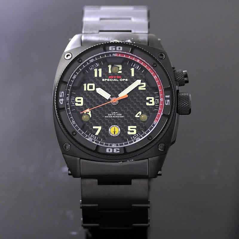 MTM ファルコンブラック腕時計