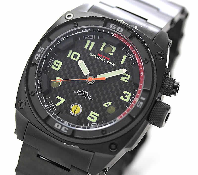 MTM ファルコンブラック 腕時計