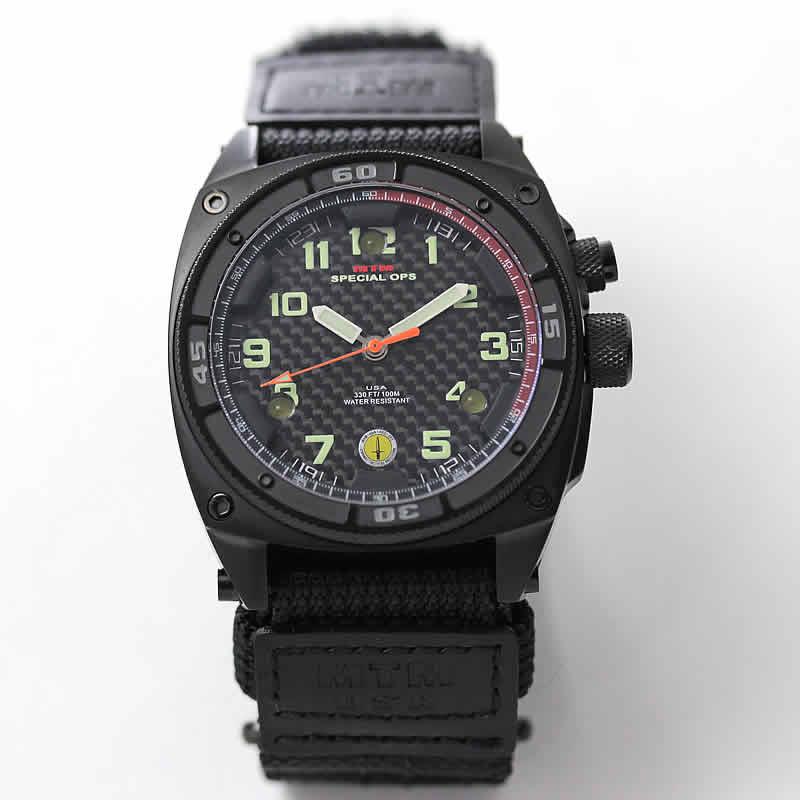 MTM ファルコンブラック腕時計 バリスティックバンド