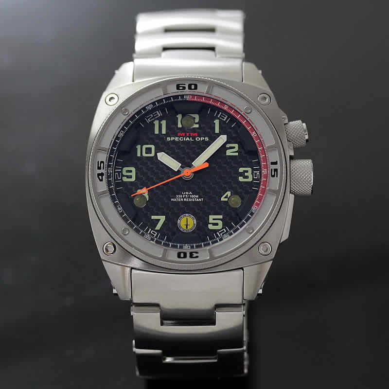 MTM シルバーファルコン腕時計