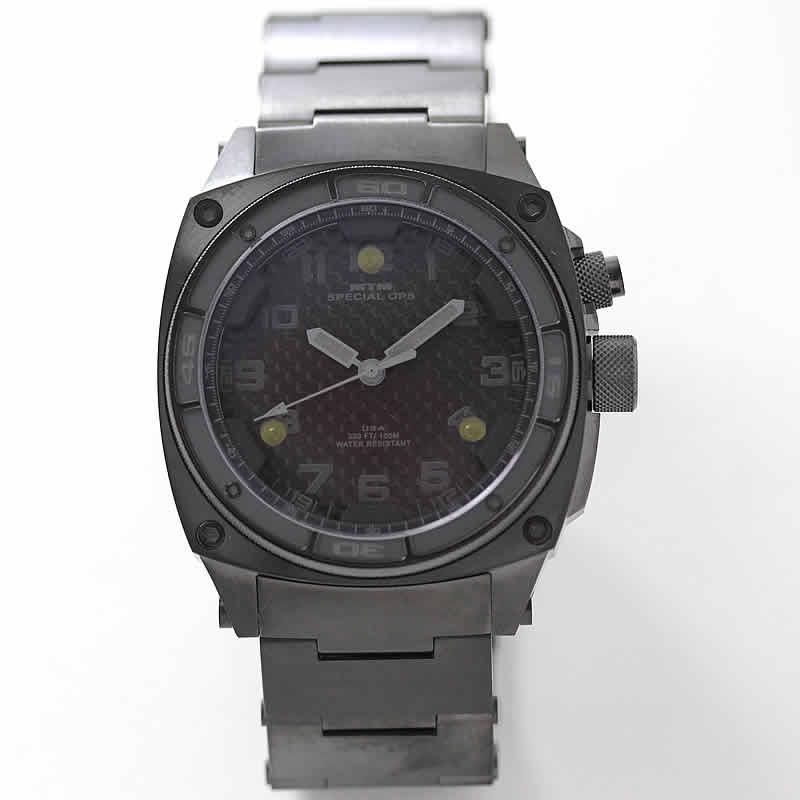 MTM ファルコン ブラックオンブラック 腕時計 チタニウム