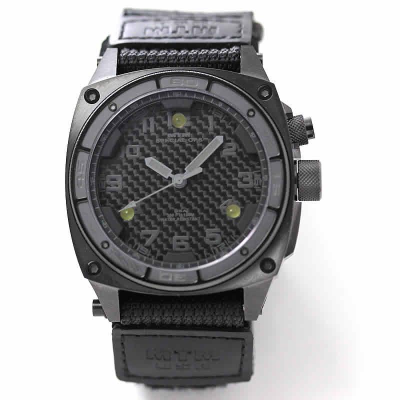 MTM スペシャルOPS ファルコン シルバー TI001T チタニウム腕時計 バリスティックバンド