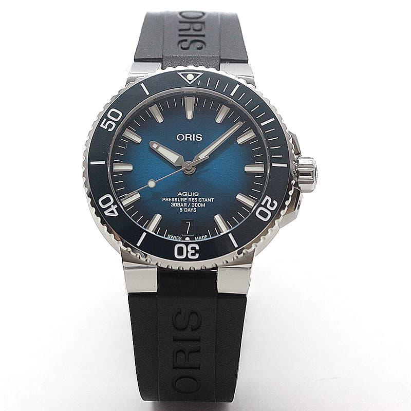 オリス/Oris/ダイビング/AQUIS(アクイス)/キャリバー400/ダイバーズウォッチ 400 7763 4135-07 4 24 74EB 腕時計