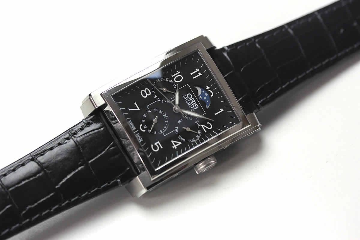 オリス レクタンギュラー コンプリケーション 腕時計