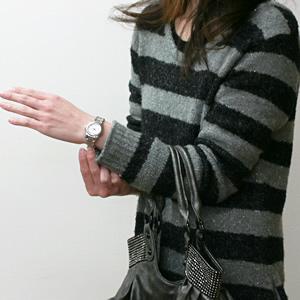 ORIS  腕時計 腕時計 正美堂女性スタッフ着用