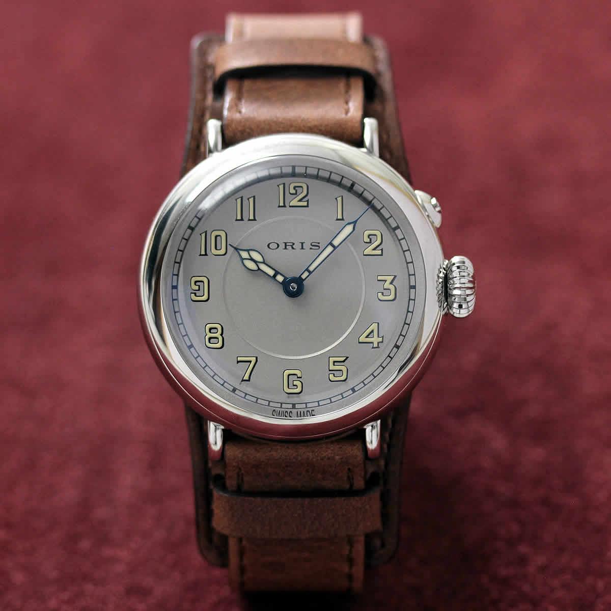 オリス ORIS ビッグブラウン 腕時計 パイロットウォッチ