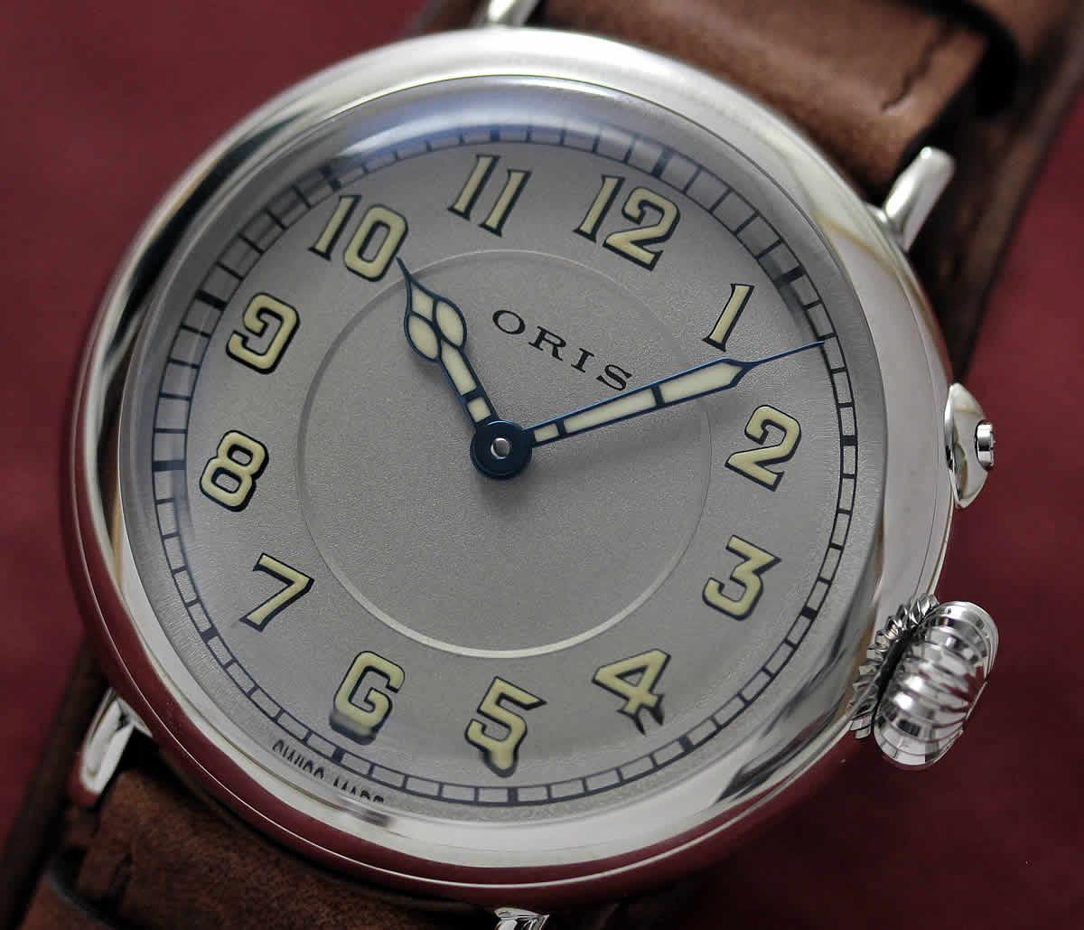 オリス ビッグブラウン 腕c時計