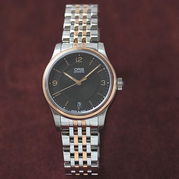 オリス クラシック デイト腕時計 733.7578.4334M