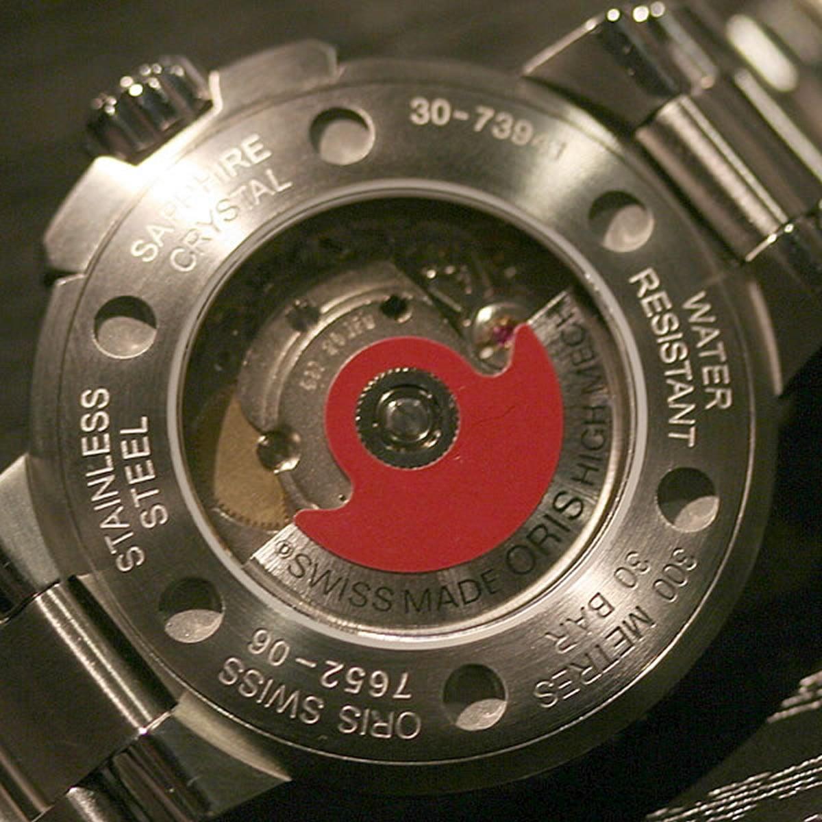 オリスを象徴するレッドローター   73376764154m