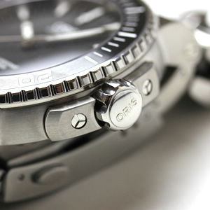 ORIS 腕時計 ダイバーズ 逆回転防止ベゼル