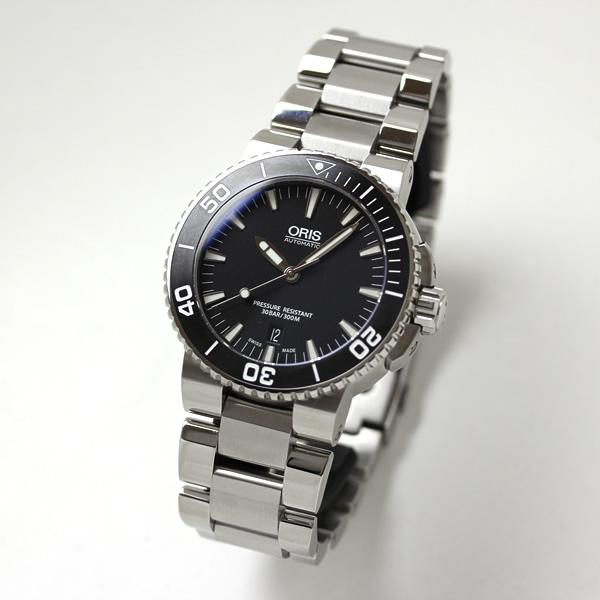 オリス 腕時計 PRODIVERS デイト チタンケース ラバーベルト