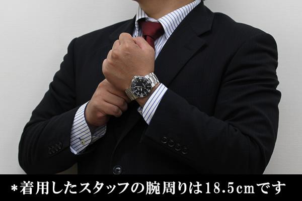 オリス 腕時計 正美堂男性スタッフ着用