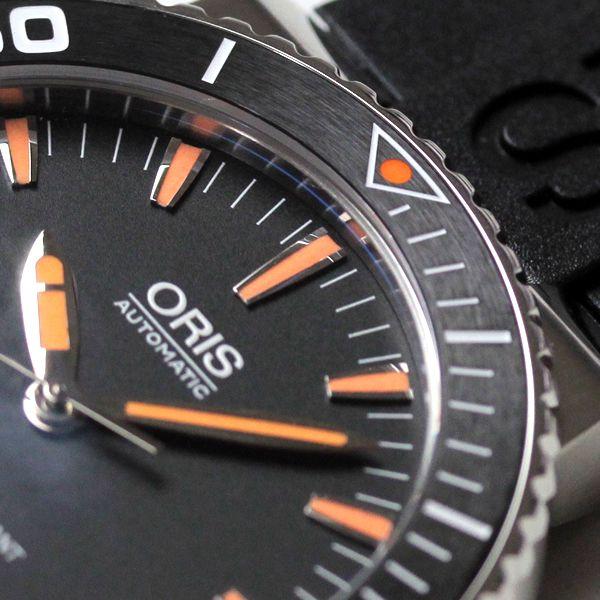 オリス(oris)73376534159r ダイビングに役立つ逆回転防止ベゼル