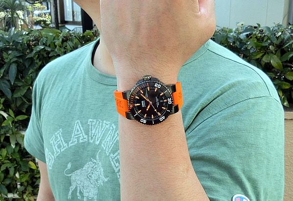 ダイバーズモデル 結納返し時計