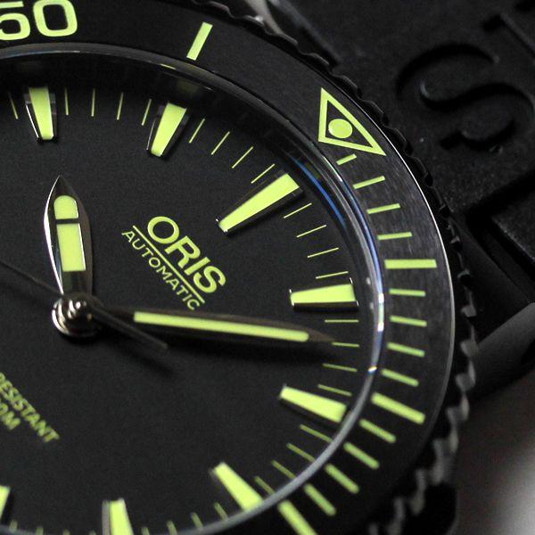 オリス(oris)73376534722r ダイビングに役立つ逆回転防止ベゼル