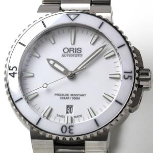 ORIS 腕時計 ダイバーズ 風防はサファイアクリスタル