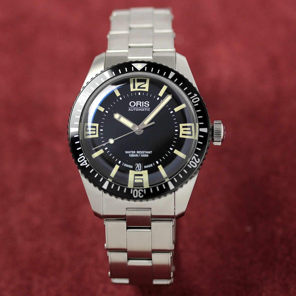 ORIS(オリス)ダイバーズ65(Divers Sixty-Five)733.7707.4064M ステンレスベルト