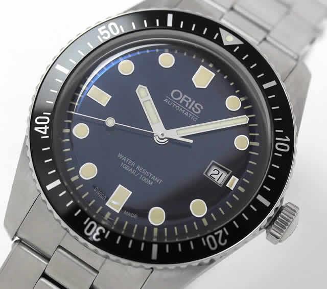 オリス 自動巻き ダイバー65 腕時計