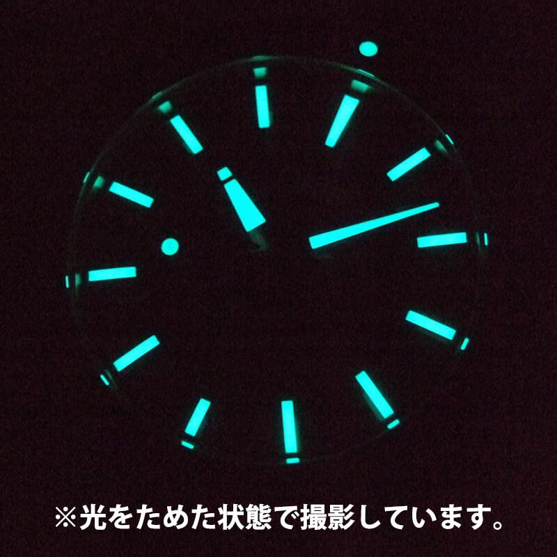 暗闇・潜水中でも視認性抜群!スーパールミノバ夜光針&インデックス