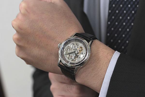 ORIS スケルトン 時計