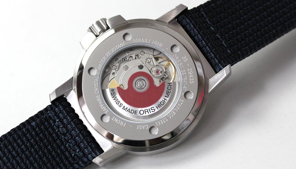 ORIS(オリス)腕時計 BC3 アドバンスド シースルーバック レッドローター