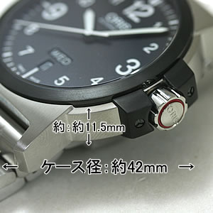 オリス 時計 ORIS 大きさ