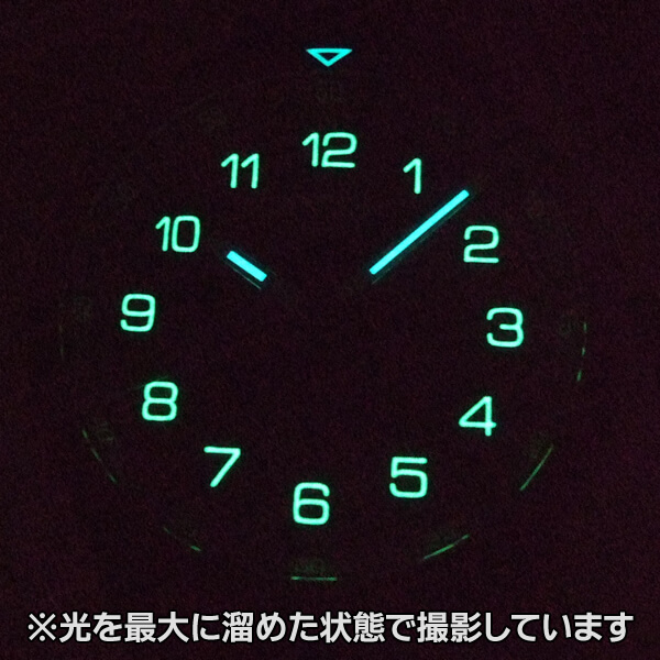 ORIS(オリス) カロブラ デイデイト 73577064494d 蓄光画像