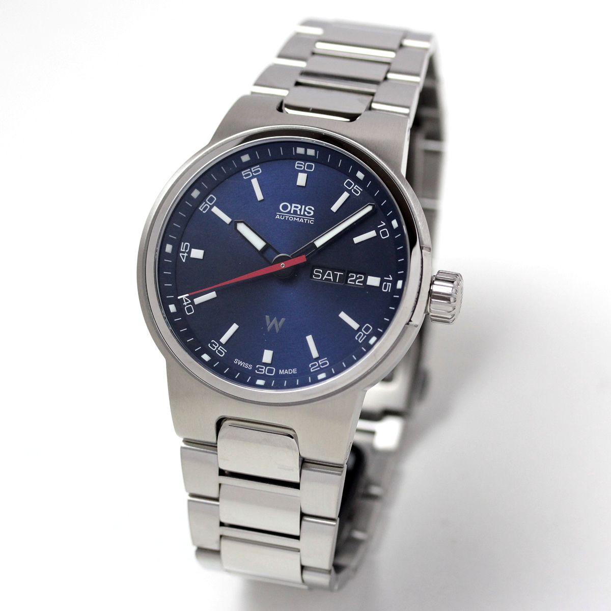 オリス ウィリアムズ デイデイト Ref. 73577164155m 腕時計
