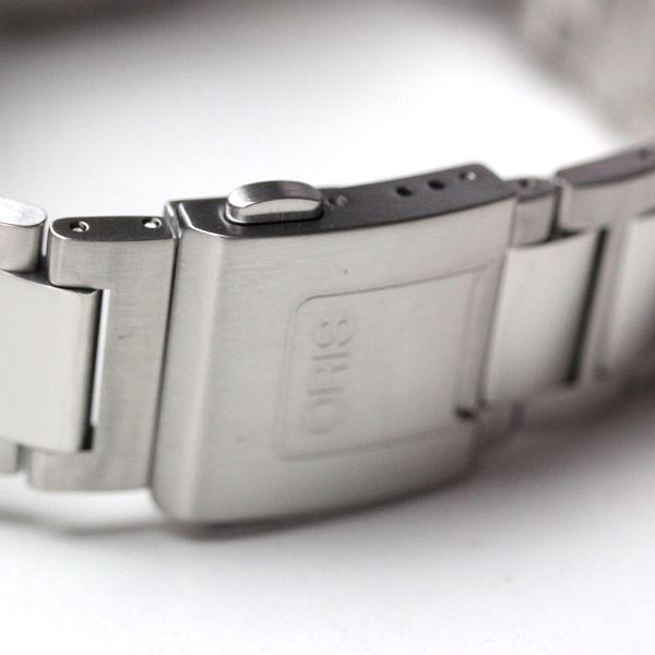 オリス腕時計 ラバーベルト フォールディングバックル