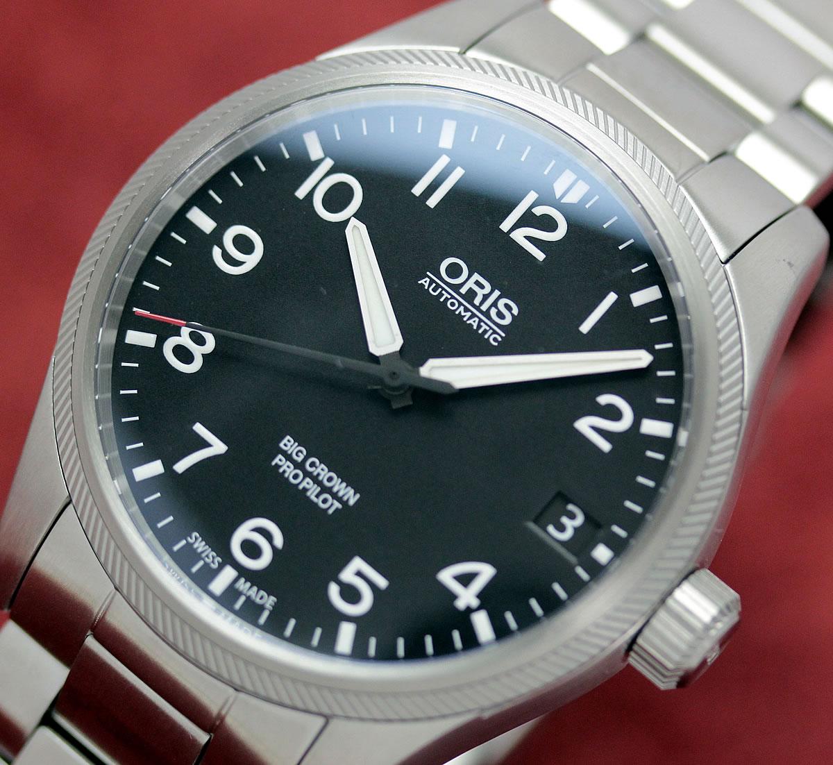 オリス ORIS プロパイロット 腕時計