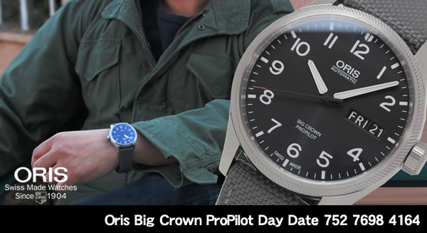 Oris Big Crown ProPilot デイデイト 752 7698 4164