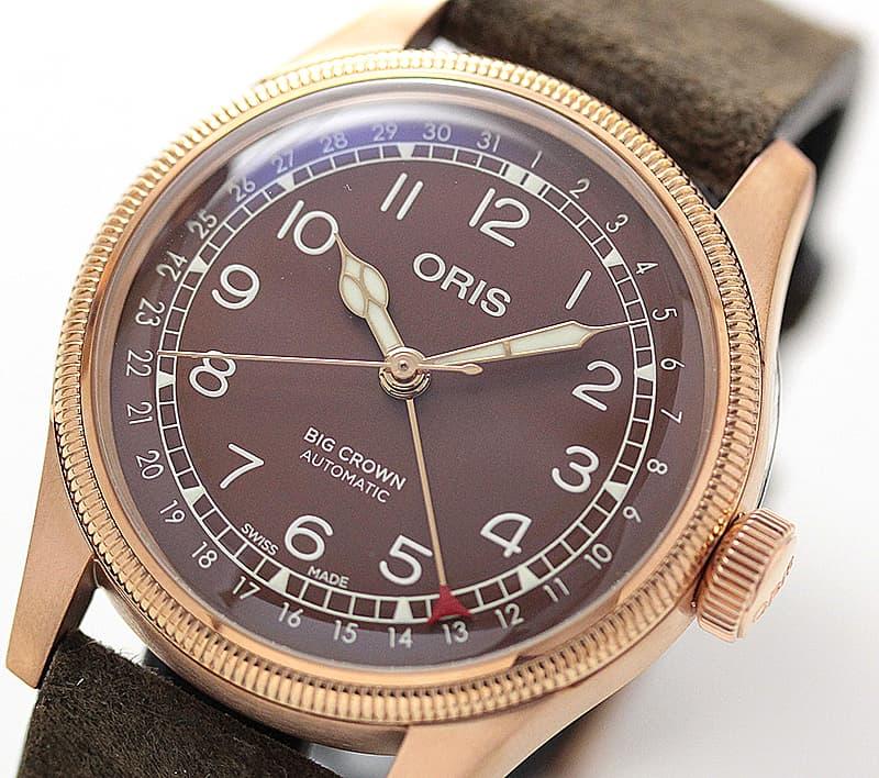 ORIS 時計 ブロンズ