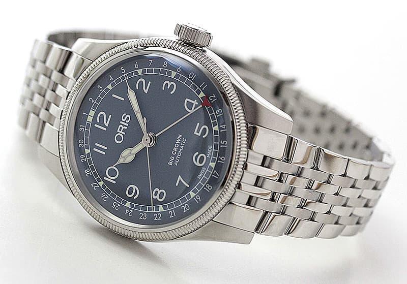 オリス ビッグクラウン 腕時計 ポインターデイト