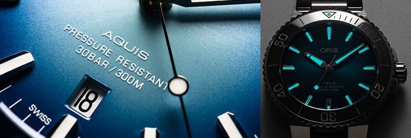 オリス ダイバーズ 腕時計 アクイス アクイスデイト