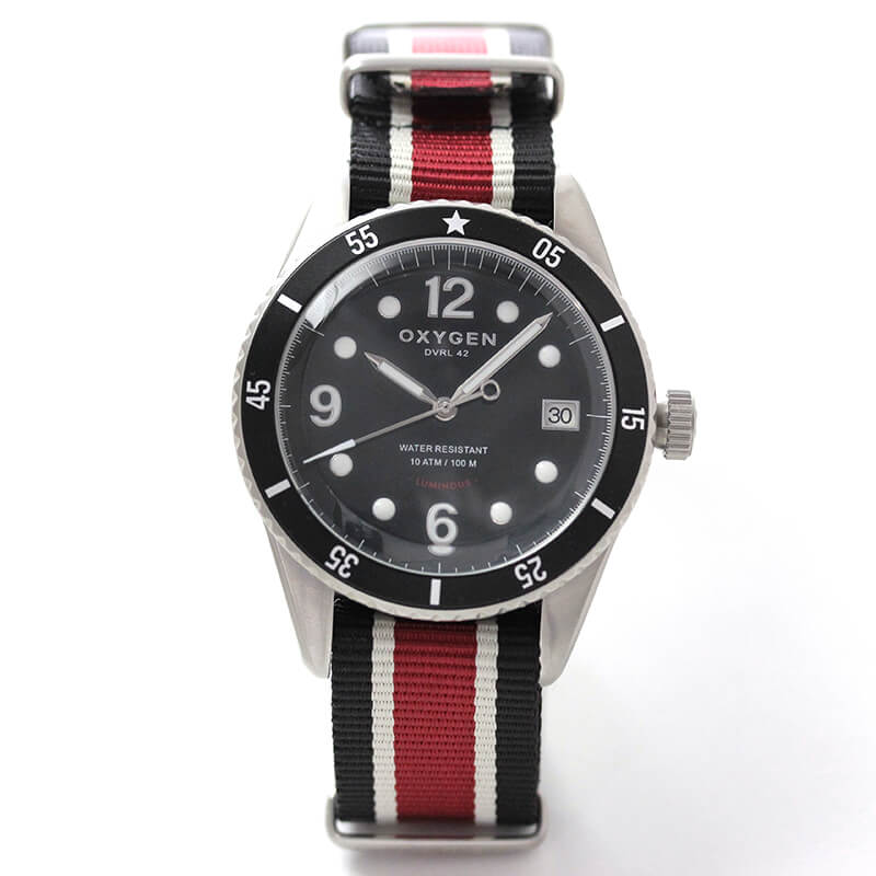 OXYGEN オキシゲン Diver Legend Automatic 42 Moon EX-A-42-VL-DB ダイバー レジェンド 42