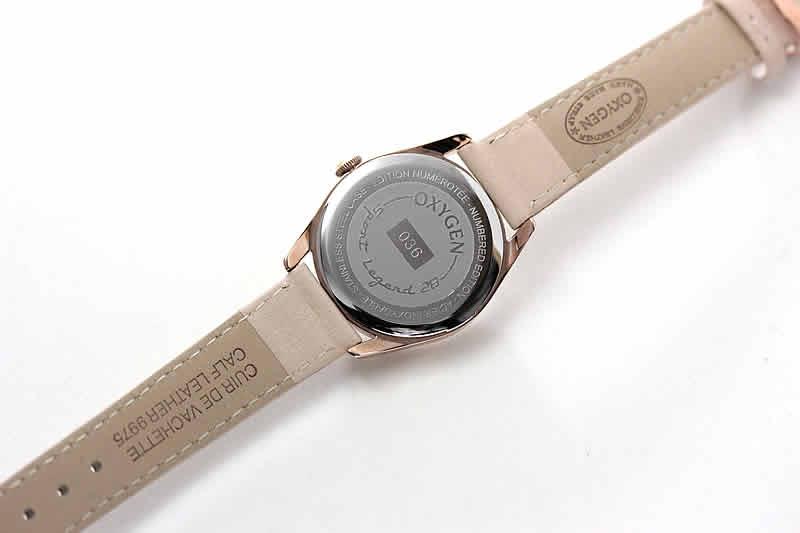 オキシゲン腕時計 裏蓋