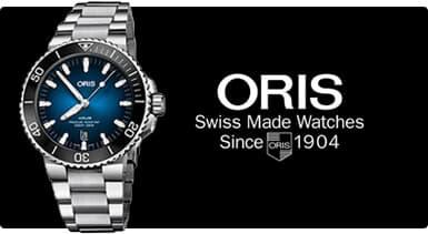 機械式時計のみを変わらず製作するブランド ORIS オリス