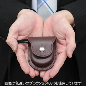懐中時計 専用ケース 男性スタッフの手に乗せたイメージ