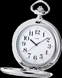 記念品の贈り物に懐中時計を