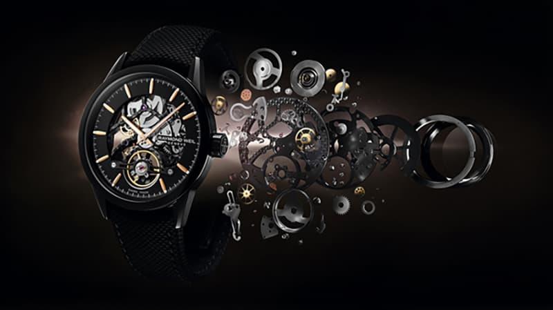 RAYMOND WEIL(レイモンドウェイル)腕時計 スケルトン ウォッチ