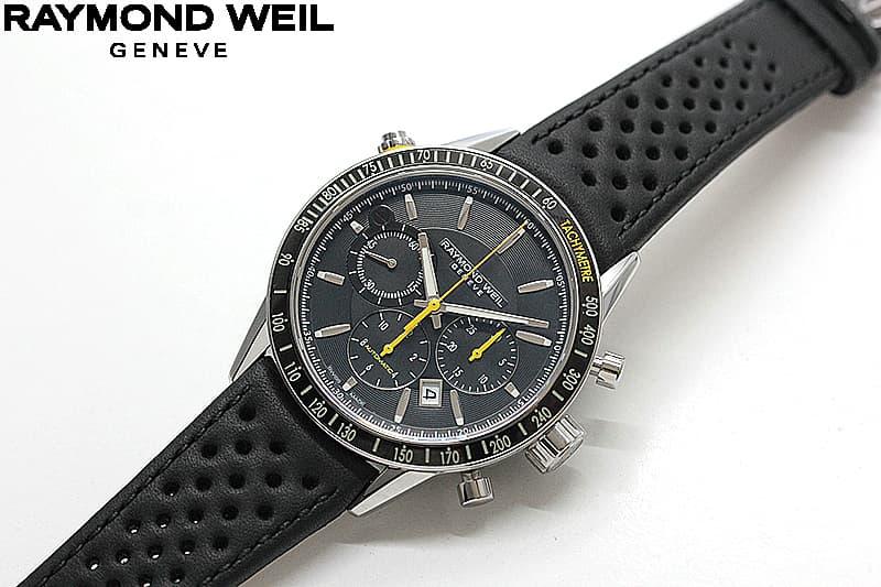RAYMOND WEIL(レイモンドウェイル)腕時計 クロノグラフ ウォッチ